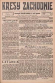 Kresy Zachodnie: pismo poświęcone obronie interesów narodowych na zachodnich ziemiach Polski 1925.09.25 R.3 Nr220