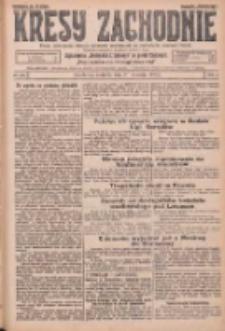 Kresy Zachodnie: pismo poświęcone obronie interesów narodowych na zachodnich ziemiach Polski 1925.09.27 R.3 Nr222