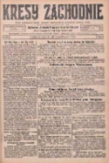 Kresy Zachodnie: pismo poświęcone obronie interesów narodowych na zachodnich ziemiach Polski 1925.10.01 R.3 Nr225