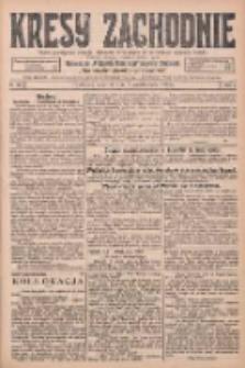 Kresy Zachodnie: pismo poświęcone obronie interesów narodowych na zachodnich ziemiach Polski 1925.10.08 R.3 Nr231