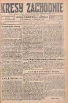 Kresy Zachodnie: pismo poświęcone obronie interesów narodowych na zachodnich ziemiach Polski 1925.10.21 R.3 Nr242