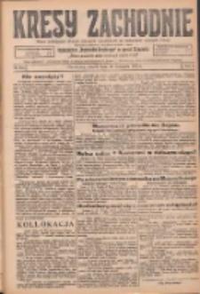 Kresy Zachodnie: pismo poświęcone obronie interesów narodowych na zachodnich ziemiach Polski 1925.11.10 R.3 Nr259