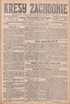 Kresy Zachodnie: pismo poświęcone obronie interesów narodowych na zachodnich ziemiach Polski 1925.11.12 R.3 Nr261