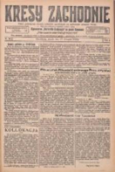 Kresy Zachodnie: pismo poświęcone obronie interesów narodowych na zachodnich ziemiach Polski 1925.11.17 R.3 Nr265