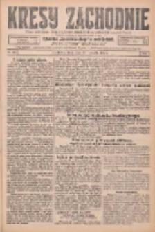 Kresy Zachodnie: pismo poświęcone obronie interesów narodowych na zachodnich ziemiach Polski 1925.11.18 R.3 Nr266
