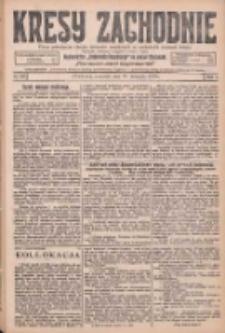 Kresy Zachodnie: pismo poświęcone obronie interesów narodowych na zachodnich ziemiach Polski 1925.11.19 R.3 Nr267
