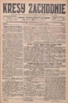 Kresy Zachodnie: pismo poświęcone obronie interesów narodowych na zachodnich ziemiach Polski 1925.11.20 R.3 Nr268