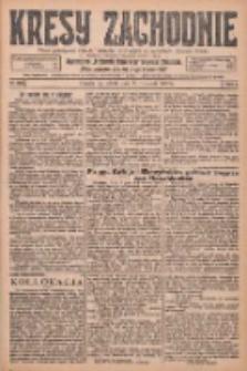 Kresy Zachodnie: pismo poświęcone obronie interesów narodowych na zachodnich ziemiach Polski 1925.11.21 R.3 Nr269