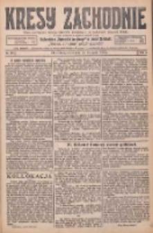 Kresy Zachodnie: pismo poświęcone obronie interesów narodowych na zachodnich ziemiach Polski 1925.11.25 R.3 Nr272