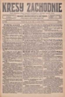 Kresy Zachodnie: pismo poświęcone obronie interesów narodowych na zachodnich ziemiach Polski 1925.12.01 R.3 Nr277