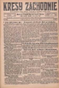 Kresy Zachodnie: pismo poświęcone obronie interesów narodowych na zachodnich ziemiach Polski 1925.12.03 R.3 Nr279