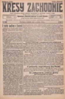 Kresy Zachodnie: pismo poświęcone obronie interesów narodowych na zachodnich ziemiach Polski 1925.12.06 R.3 Nr282