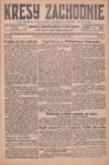 Kresy Zachodnie: pismo poświęcone obronie interesów narodowych na zachodnich ziemiach Polski 1925.12.11 R.3 Nr285