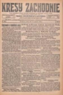 Kresy Zachodnie: pismo poświęcone obronie interesów narodowych na zachodnich ziemiach Polski 1925.12.16 R.3 Nr289