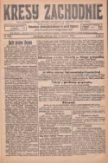 Kresy Zachodnie: pismo poświęcone obronie interesów narodowych na zachodnich ziemiach Polski 1925.12.17 R.3 Nr290