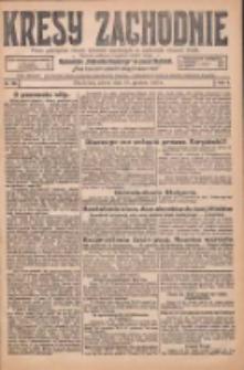 Kresy Zachodnie: pismo poświęcone obronie interesów narodowych na zachodnich ziemiach Polski 1925.12.19 R.3 Nr292