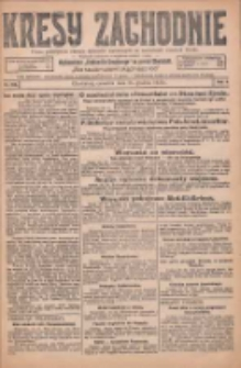 Kresy Zachodnie: pismo poświęcone obronie interesów narodowych na zachodnich ziemiach Polski 1925.12.24 R.3 Nr296