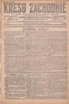 Kresy Zachodnie: pismo poświęcone obronie interesów narodowych na zachodnich ziemiach Polski 1925.12.25 R.3 Nr297