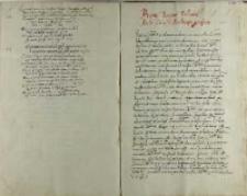 Bonae reginae Poloniae Andreas Cricius archiepiscopus gnesnensis, Pułtusk 03.11.1535