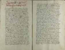Sigismundo regi Poloniae Andreas Cricius aechiepiscopus gnesnensis, Warszawa 01.03.1536