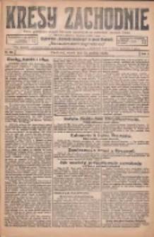 Kresy Zachodnie: pismo poświęcone obronie interesów narodowych na zachodnich ziemiach Polski 1925.12.29 R.3 Nr298