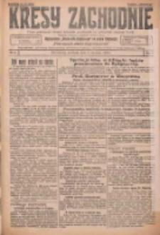 Kresy Zachodnie: pismo poświęcone obronie interesów narodowych na zachodnich ziemiach Polski 1926.01.03 R.4 Nr2