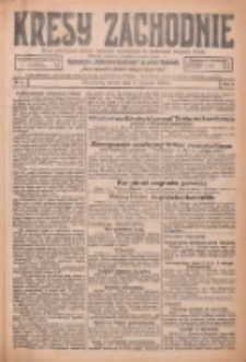 Kresy Zachodnie: pismo poświęcone obronie interesów narodowych na zachodnich ziemiach Polski 1926.01.05 R.4 Nr3