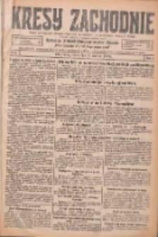 Kresy Zachodnie: pismo poświęcone obronie interesów narodowych na zachodnich ziemiach Polski 1926.01.09 R.4 Nr6