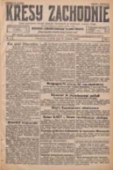 Kresy Zachodnie: pismo poświęcone obronie interesów narodowych na zachodnich ziemiach Polski 1926.01.10 R.4 Nr7