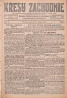 Kresy Zachodnie: pismo poświęcone obronie interesów narodowych na zachodnich ziemiach Polski 1926.01.13 R.4 Nr9