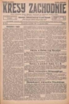 Kresy Zachodnie: pismo poświęcone obronie interesów narodowych na zachodnich ziemiach Polski 1926.01.17 R.4 Nr13