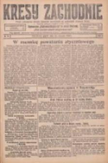 Kresy Zachodnie: pismo poświęcone obronie interesów narodowych na zachodnich ziemiach Polski 1926.01.22 R.4 Nr17