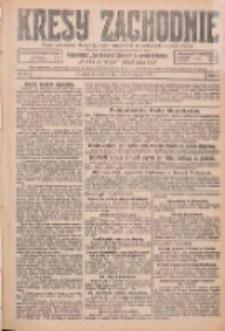 Kresy Zachodnie: pismo poświęcone obronie interesów narodowych na zachodnich ziemiach Polski 1926.01.23 R.4 Nr18