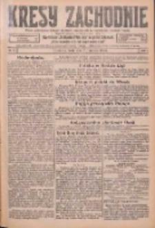 Kresy Zachodnie: pismo poświęcone obronie interesów narodowych na zachodnich ziemiach Polski 1926.01.27 R.4 Nr21
