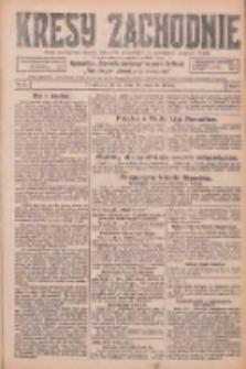 Kresy Zachodnie: pismo poświęcone obronie interesów narodowych na zachodnich ziemiach Polski 1926.01.28 R.4 Nr22