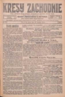Kresy Zachodnie: pismo poświęcone obronie interesów narodowych na zachodnich ziemiach Polski 1926.01.30 R.4 Nr24