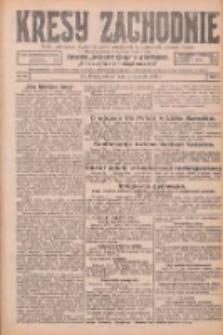 Kresy Zachodnie: pismo poświęcone obronie interesów narodowych na zachodnich ziemiach Polski 1926.02.02 R.4 Nr26