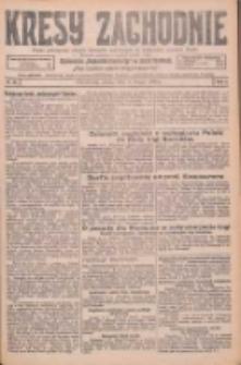 Kresy Zachodnie: pismo poświęcone obronie interesów narodowych na zachodnich ziemiach Polski 1926.02.06 R.4 Nr29