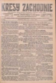 Kresy Zachodnie: pismo poświęcone obronie interesów narodowych na zachodnich ziemiach Polski 1926.02.09 R.4 Nr31