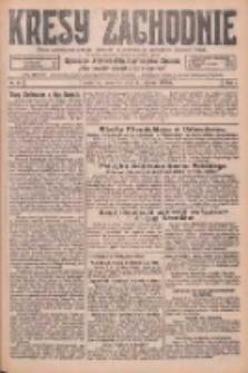 Kresy Zachodnie: pismo poświęcone obronie interesów narodowych na zachodnich ziemiach Polski 1926.02.11 R.4 Nr33