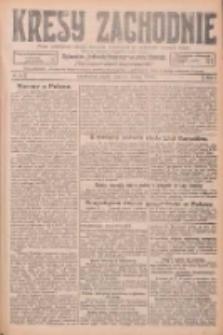 Kresy Zachodnie: pismo poświęcone obronie interesów narodowych na zachodnich ziemiach Polski 1926.02.12 R.4 Nr34