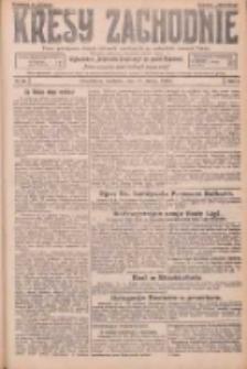 Kresy Zachodnie: pismo poświęcone obronie interesów narodowych na zachodnich ziemiach Polski 1926.02.14 R.4 Nr36