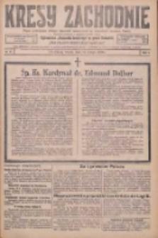 Kresy Zachodnie: pismo poświęcone obronie interesów narodowych na zachodnich ziemiach Polski 1926.02.16 R.4 Nr37
