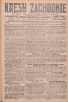 Kresy Zachodnie: pismo poświęcone obronie interesów narodowych na zachodnich ziemiach Polski 1926.02.18 R.4 Nr39