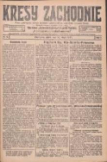 Kresy Zachodnie: pismo poświęcone obronie interesów narodowych na zachodnich ziemiach Polski 1926.02.19 R.4 Nr40