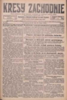 Kresy Zachodnie: pismo poświęcone obronie interesów narodowych na zachodnich ziemiach Polski 1926.02.23 R.4 Nr43