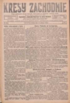 Kresy Zachodnie: pismo poświęcone obronie interesów narodowych na zachodnich ziemiach Polski 1926.02.27 R.4 Nr47