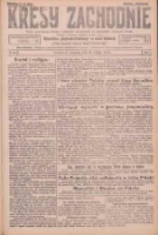 Kresy Zachodnie: pismo poświęcone obronie interesów narodowych na zachodnich ziemiach Polski 1926.02.28 R.4 Nr48