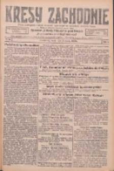 Kresy Zachodnie: pismo poświęcone obronie interesów narodowych na zachodnich ziemiach Polski 1926.03.03 R.4 Nr50