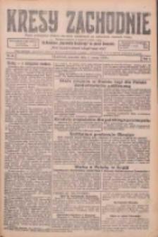 Kresy Zachodnie: pismo poświęcone obronie interesów narodowych na zachodnich ziemiach Polski 1926.03.04 R.4 Nr51